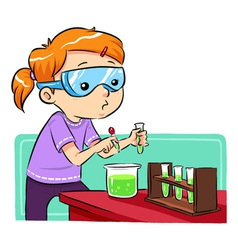 Science learning vector