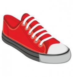 Sports shoe vector