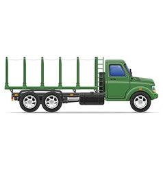cargo truck 15 vector image