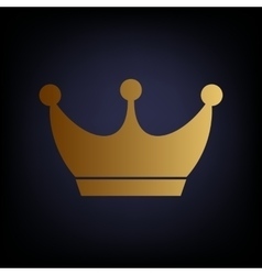 King crown sign vector