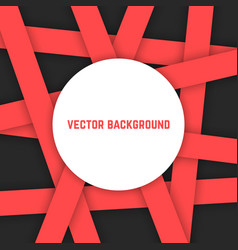 Abstract background from red stripes vector