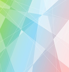 Crystal structure gradient halftone background vector