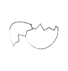 Eggshell icon image vector