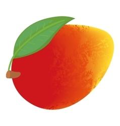 Mango icon cartoon style vector
