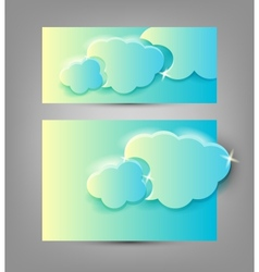 banners templates vector image