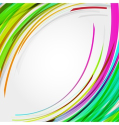 Abstract circles lines background for your text vector