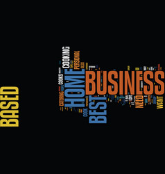 Best home based business ideas where to find them vector