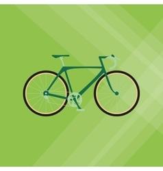 Flat of bike lifesyle design vector image vector image