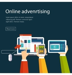 Internet advertising vector