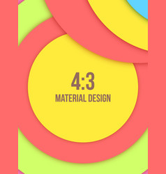 background unusual modern material design vector image