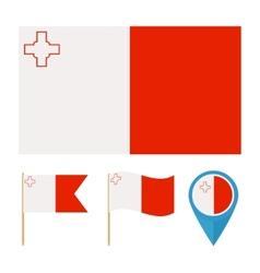 Malta country flag vector