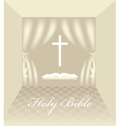 Christian symbols vector image vector image