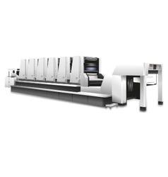 Offset printing machine akiyama vector