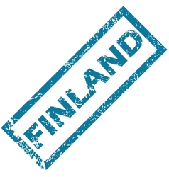 Finland rubber stamp vector