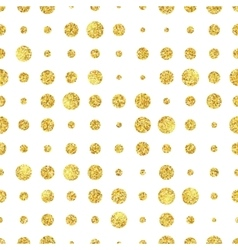 Retro colorful dot seamless pattern vector
