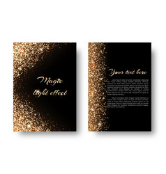 Bling background with holiday lights vector