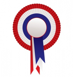rosette awards vector image