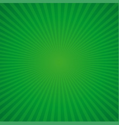 Green retro background for st patricks day vector