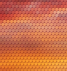 Sundown themed background with circular grid vector