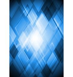 Bright blue design vector image vector image