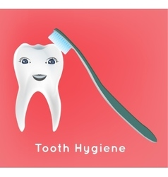 First vecotor tooth vector image