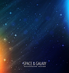 Galaxy template vector