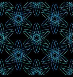Minimal sacred geometry seamless pattern textile vector