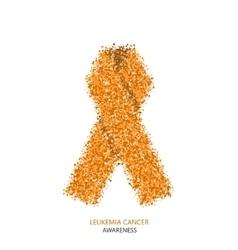 modern leukemia cancer awareness circles vector image vector image