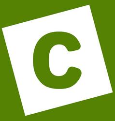 Letter c sign design template element vector