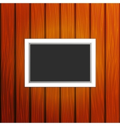 Frame on a wall vector