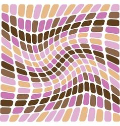 retro swirl vector image