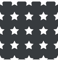 Straight black star pattern vector