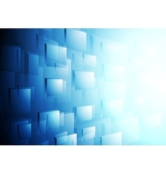 Bright blue hi-tech motion background vector