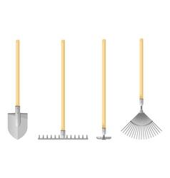 Gardening Tools Flat vector image