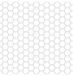 hexagon geometric pattern - seamless vector image