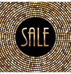 Sale Label Background vector image vector image