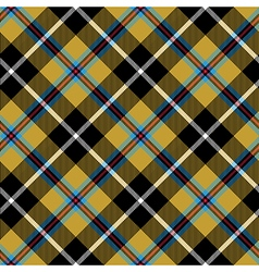 Cornish tartan diagonal fabric texture seamless vector