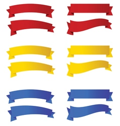 ribbon in colorful vector image