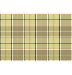 Beige check seamless fabric texture vector