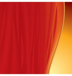 curtains backdrop vector image vector image