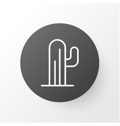 desert plant icon symbol premium quality isolated vector image vector image