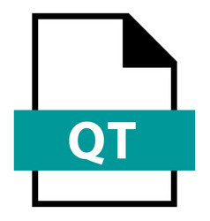 File name extension qt type vector