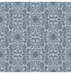 grey seamless wallpaper vector image