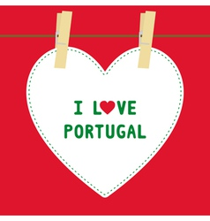 I lOVE PORTUGAL5 vector image