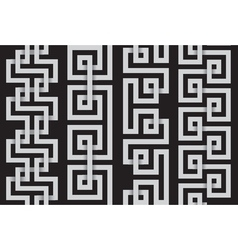 Set of lines for making seamless patterns vector