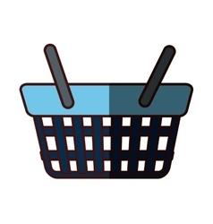 Shopping basket icon image vector