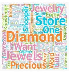 Why jewelry stores dislike knowledgeable customers vector