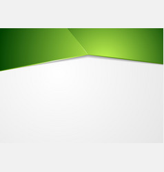 Abstract green corporate background vector
