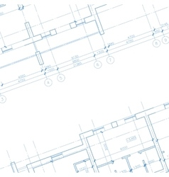 Architecture blueprint background vector