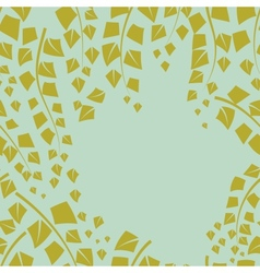 Background with birch branches vector image